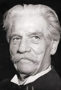 Citation d'Albert Schweitzer